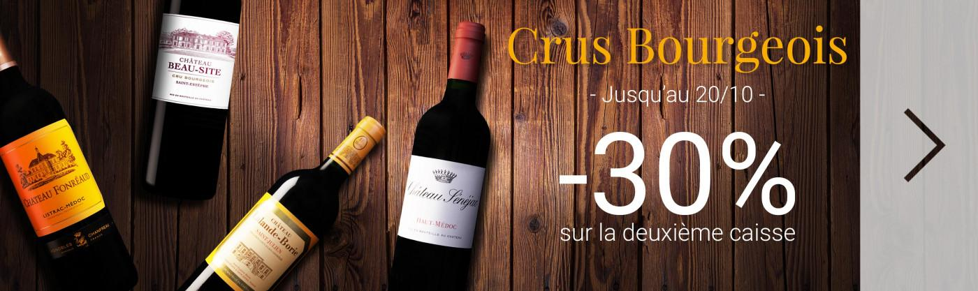 Crus Bourgeois à -30%