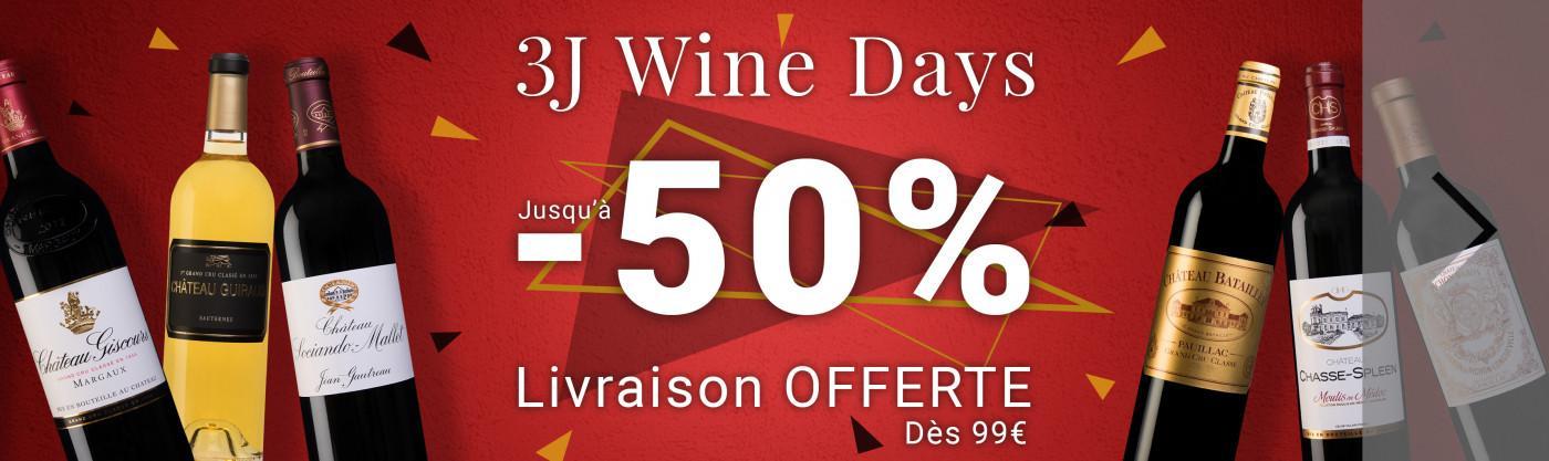 Wine Days jusqu'à -50%