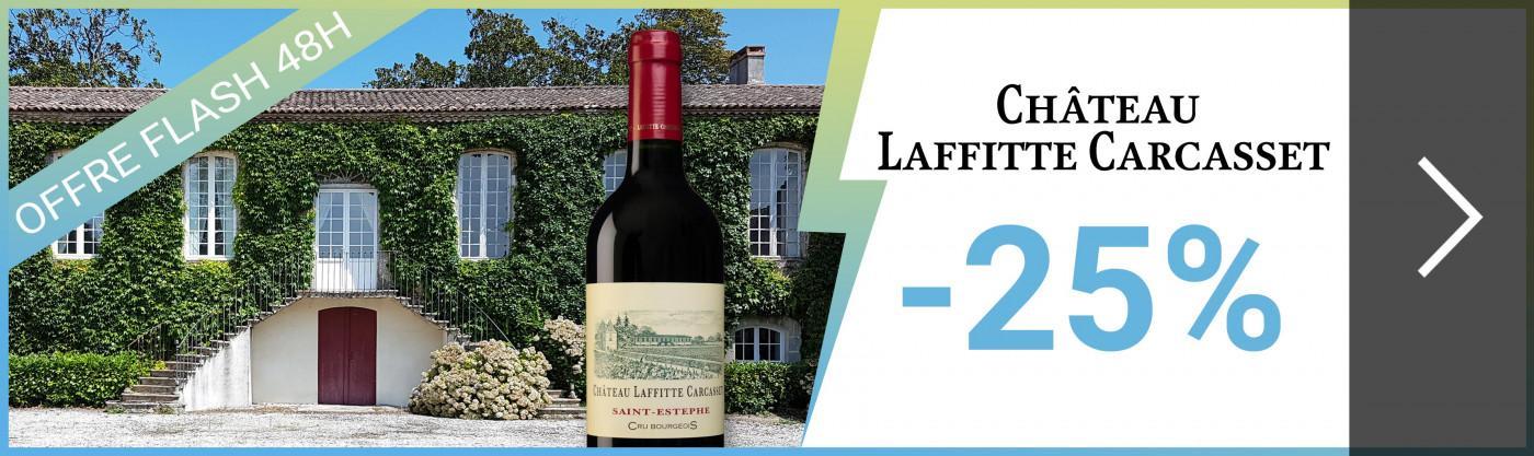 Offre Flash 48h | Château Laffitte Carcasset 2014