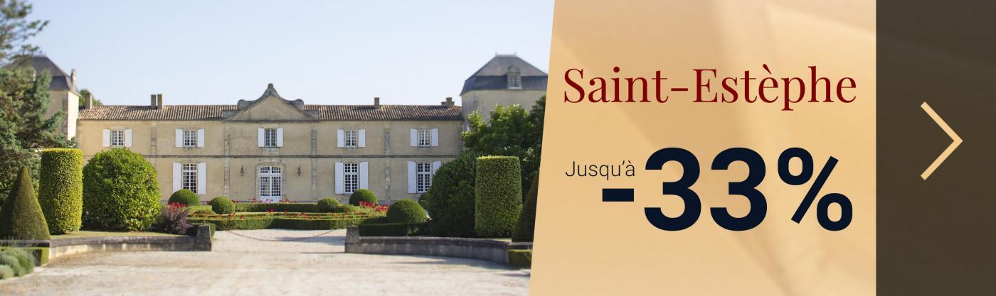 Saint-Estèphe | Jusqu'à -33%