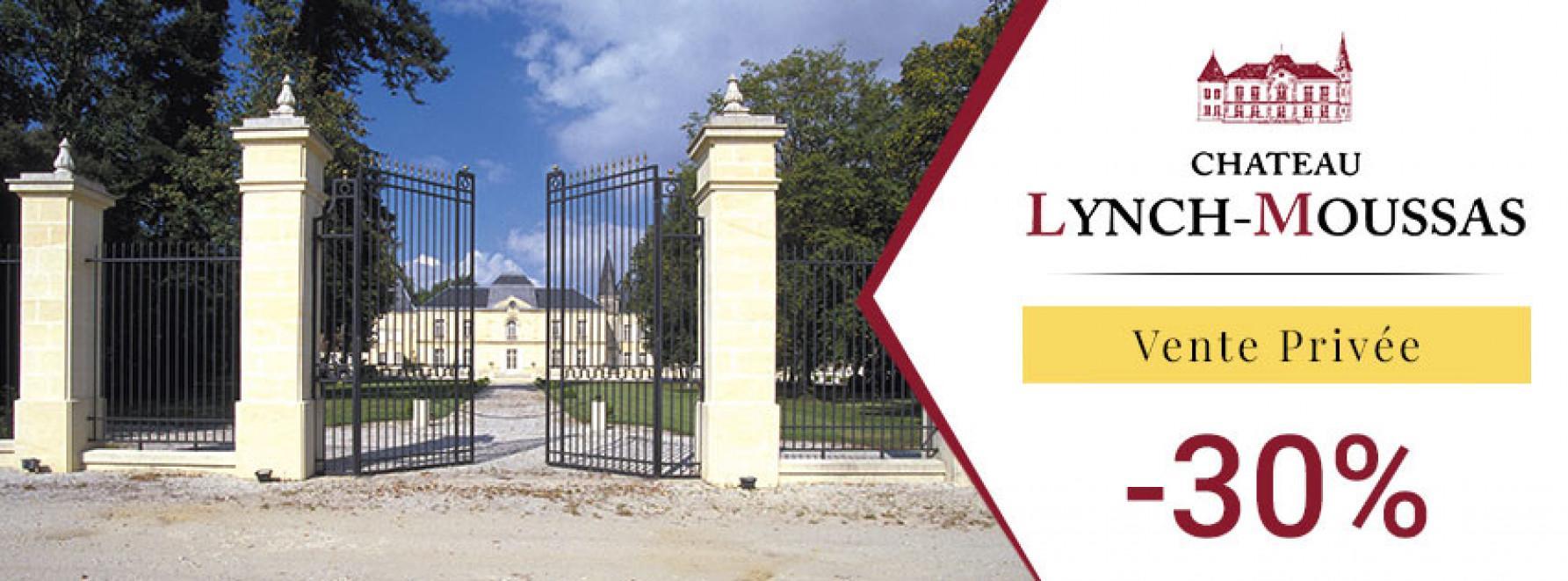 Vente Privée Château Lynch-Moussas