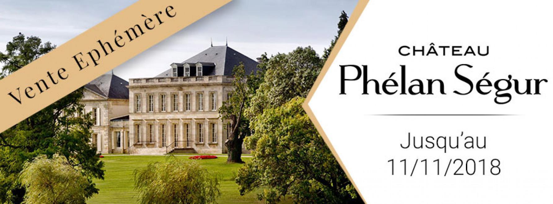Vente Éphémère du Château Phélan-Ségur