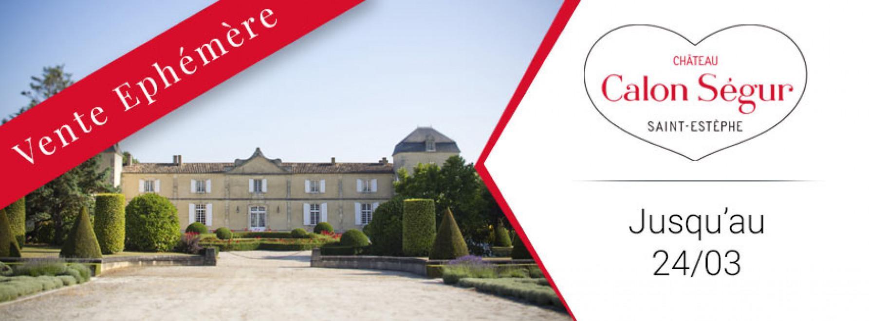 Vente Éphémère du Château Calon Ségur