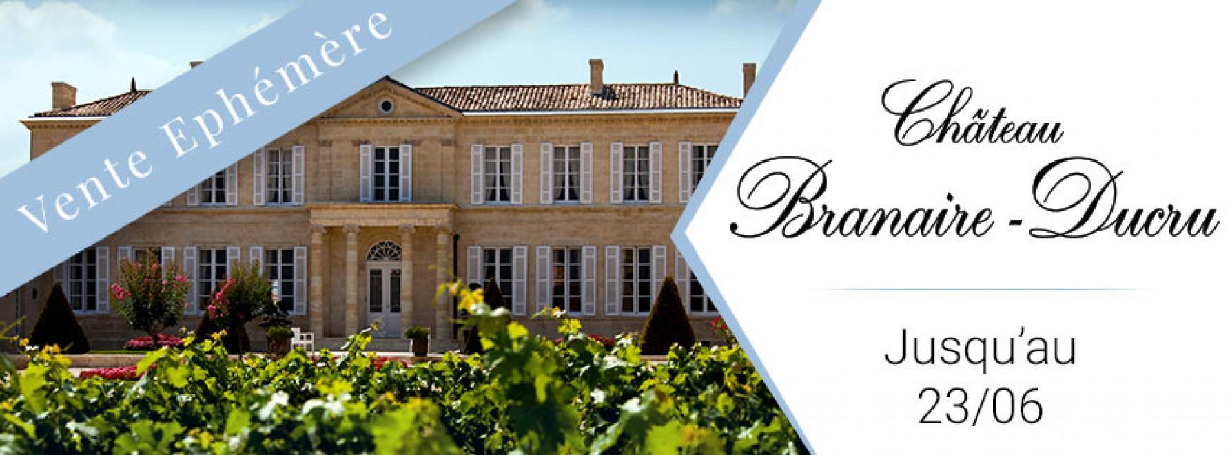 Vente Éphémère du Château Branaire-Ducru
