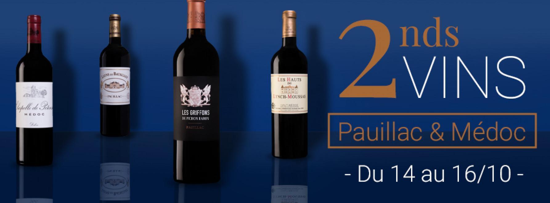 2nds Vins Paullac & Médoc
