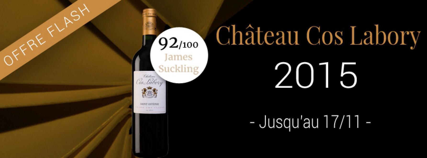 Offre Flash - Château Cos Labory 2015