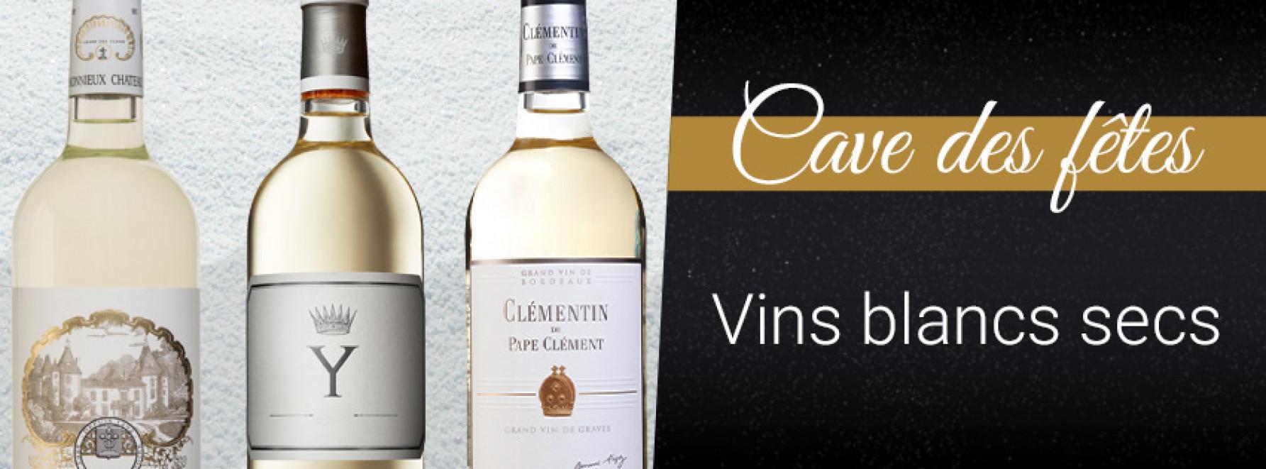 Cave des Fêtes : vins blancs secs