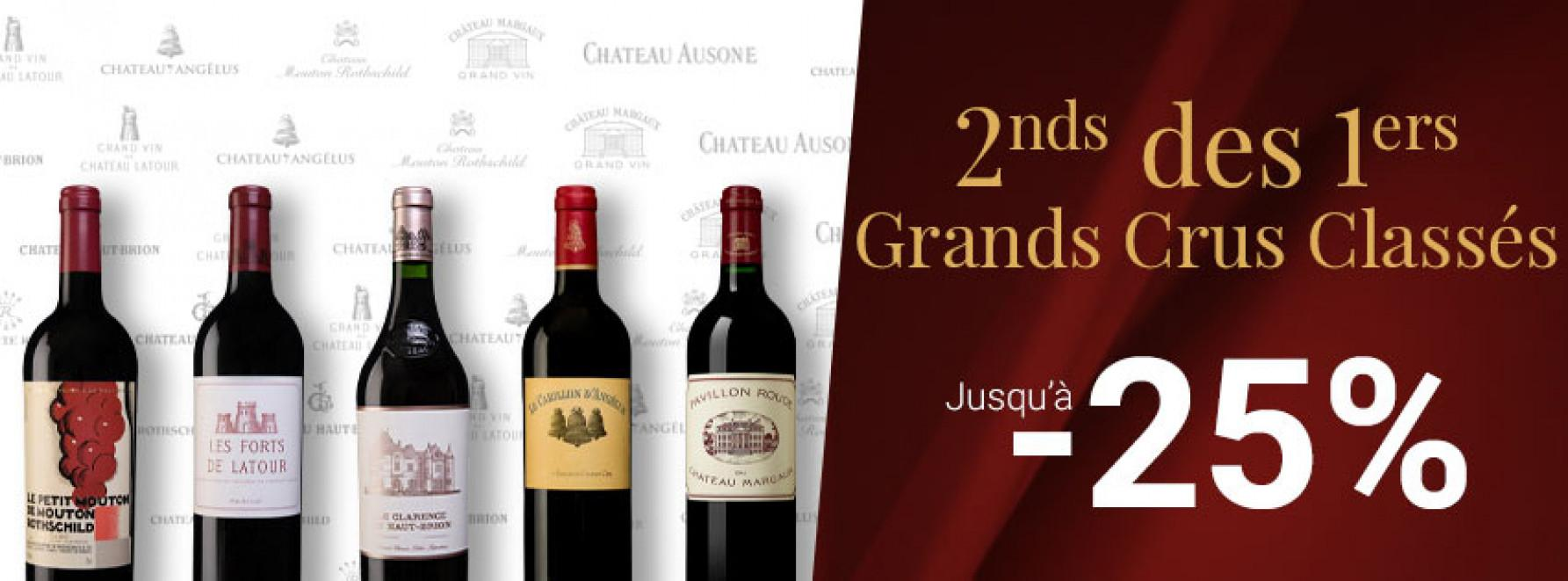2nds vins des 1ers Grands Crus Classés