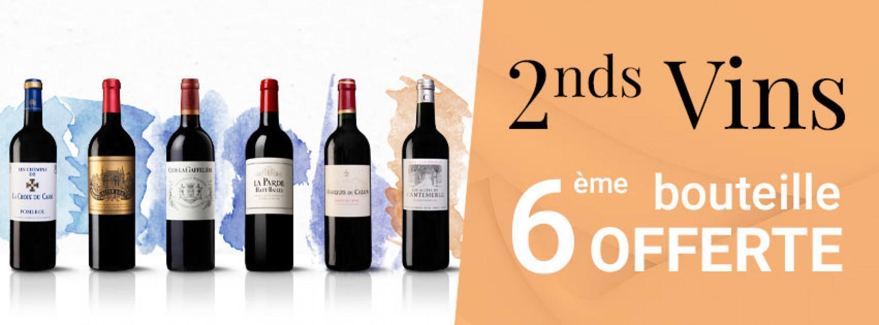 Seconds vins : 6ème bouteille offerte