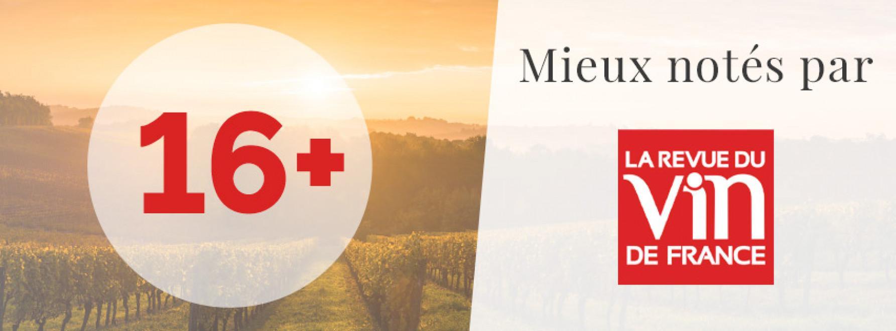 Mieux notés par la Revue du Vin de France