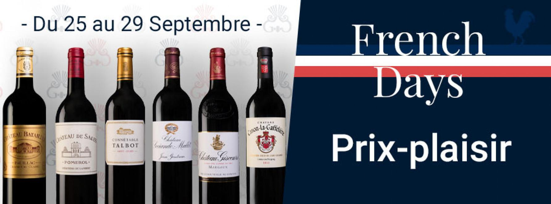 French Days | Prix-plaisir