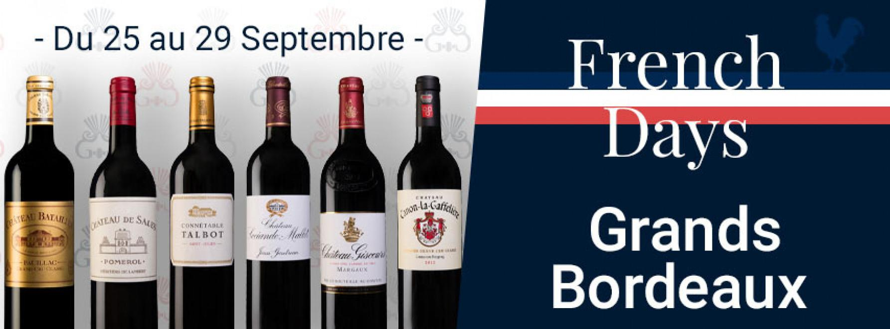 French Days | Grands Bordeaux