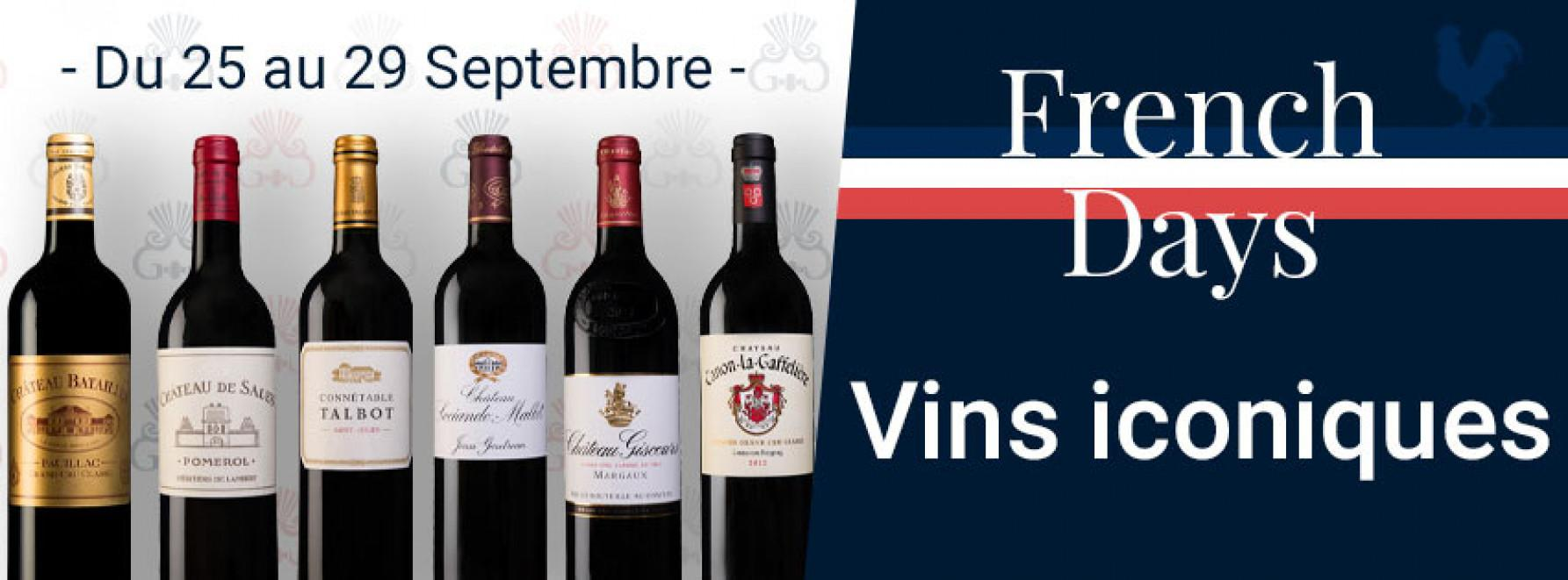 French Days | Vins iconiques