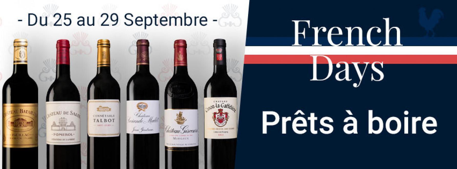 French Days | Prêts à déguster