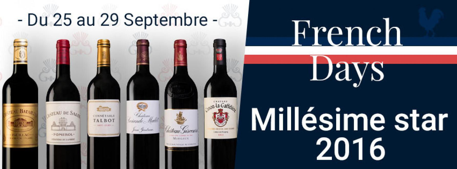 French Days | Millésime star 2016