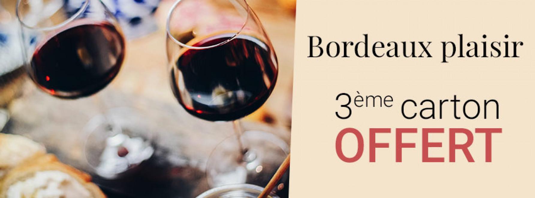 Bordeaux Plaisir | 3ème carton offert