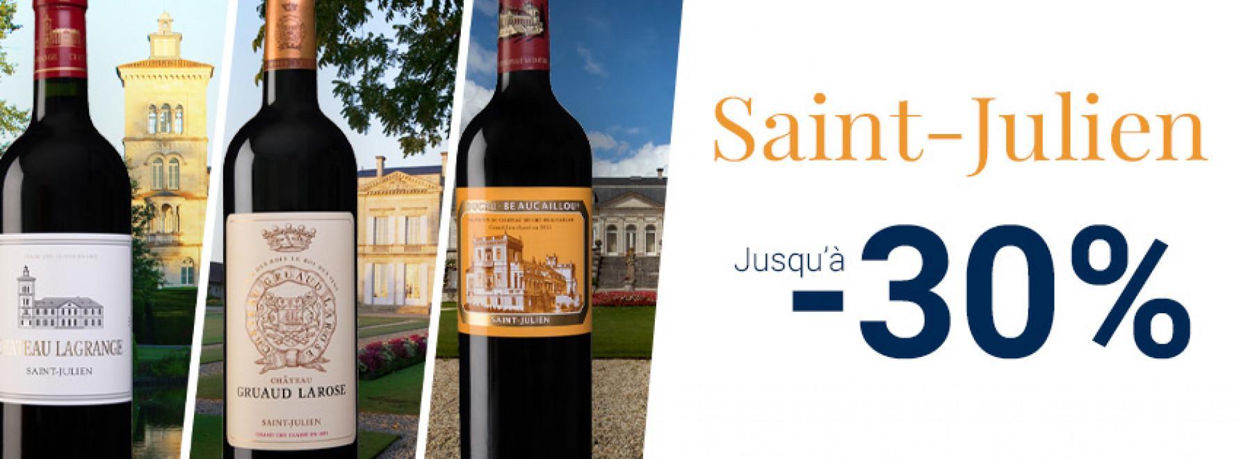 Saint-Julien - Jusqu'à -30%