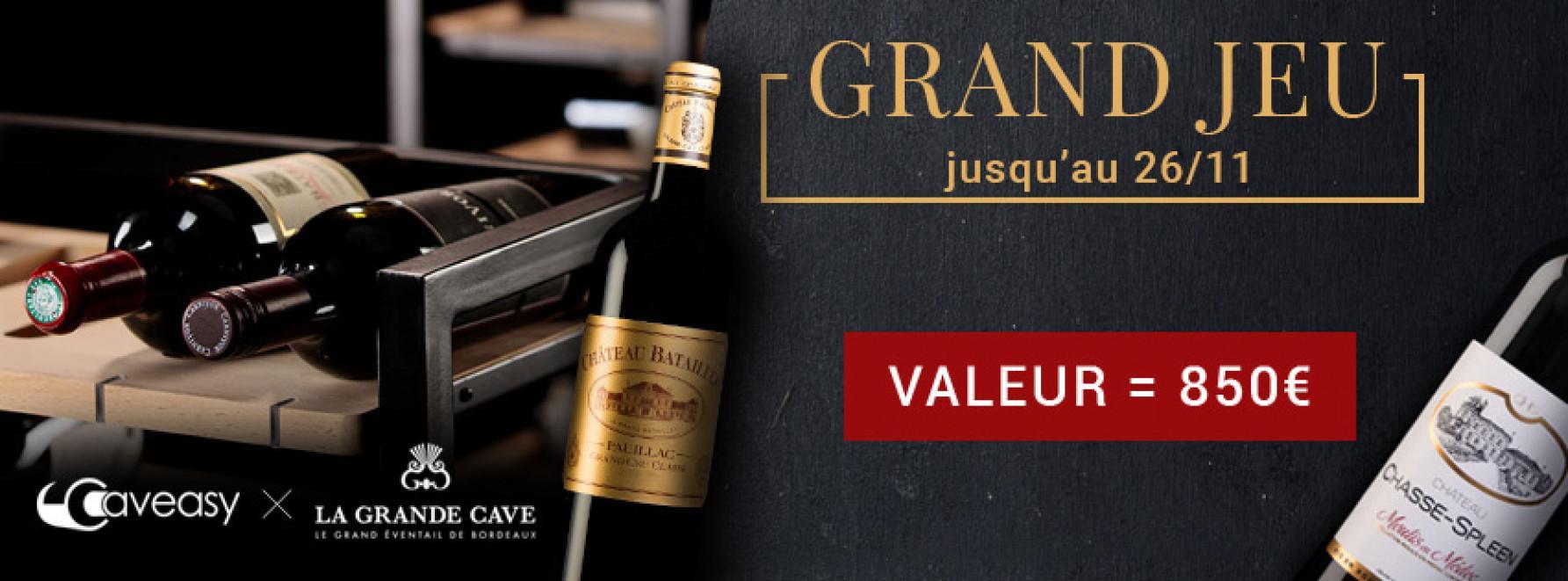 Grand Jeu | Remportez 1 cave connectée + 24 bouteilles