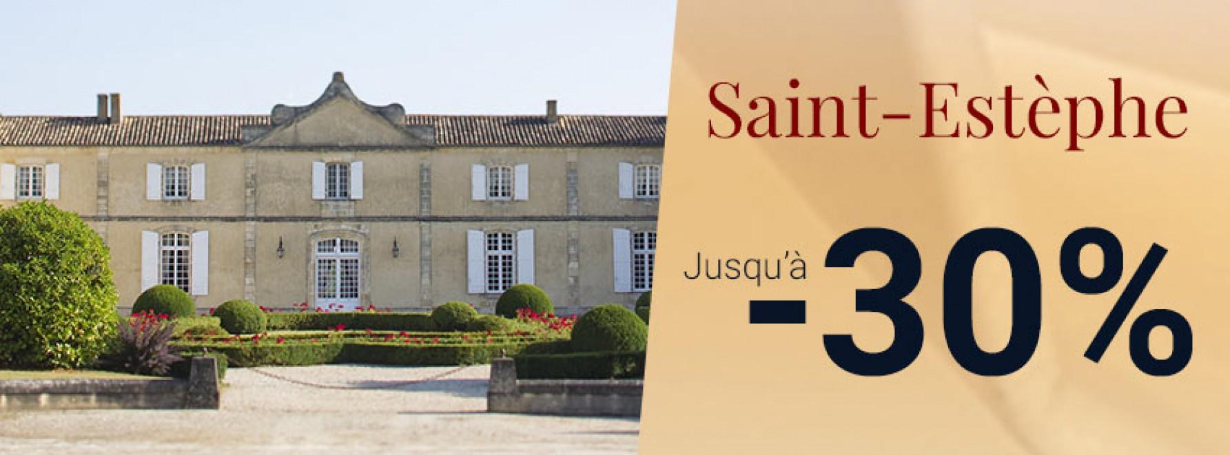 Saint-Estèphe | Jusqu'à -30%