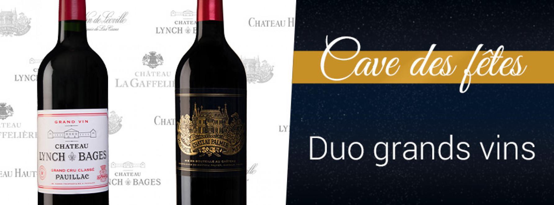 Duo de Grands Vins = -30% sur la 2ème bouteille au choix