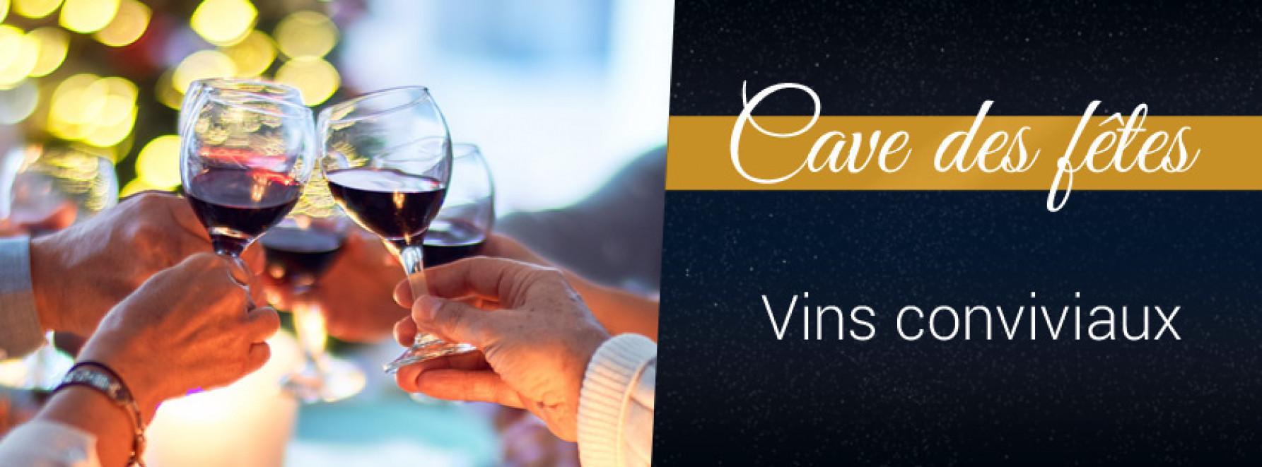 Vins conviviaux | 3ème caisse OFFERTE