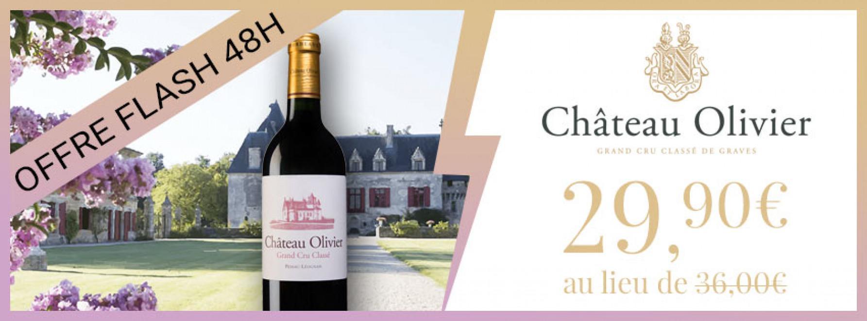 Offre Flash 48h | Château Olivier 2016