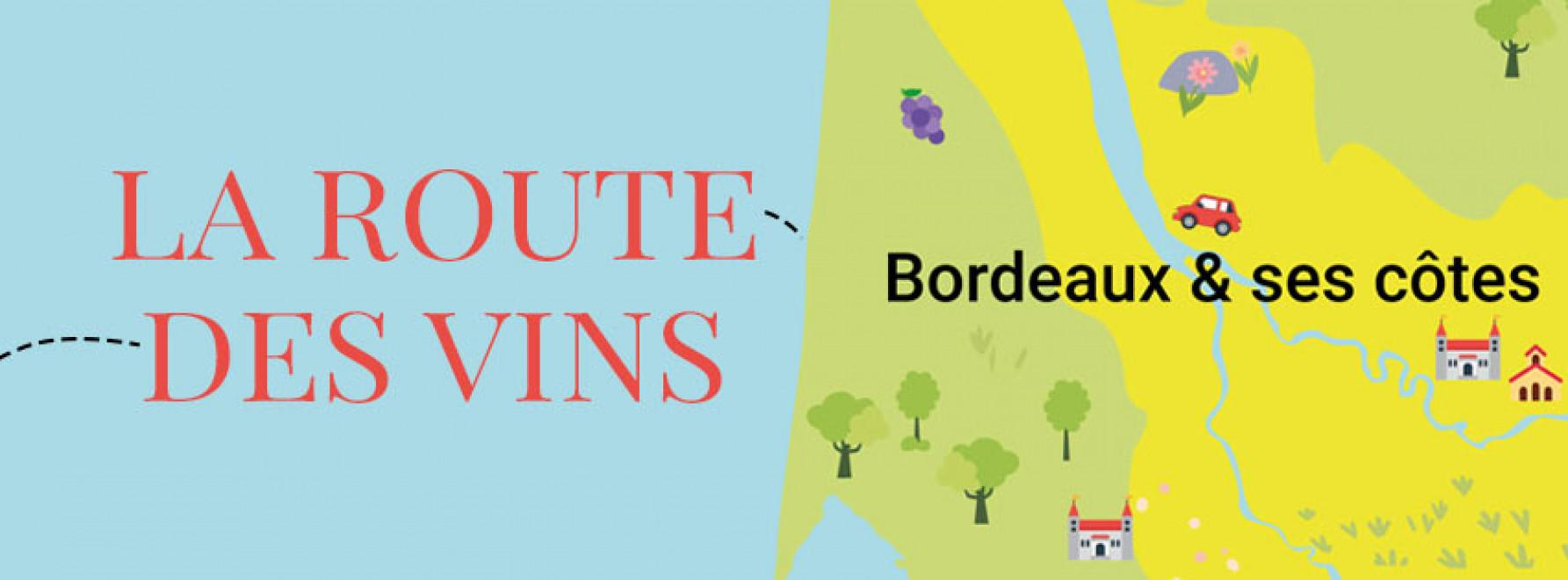 La route des vins : direction Bordeaux et ses Côtes