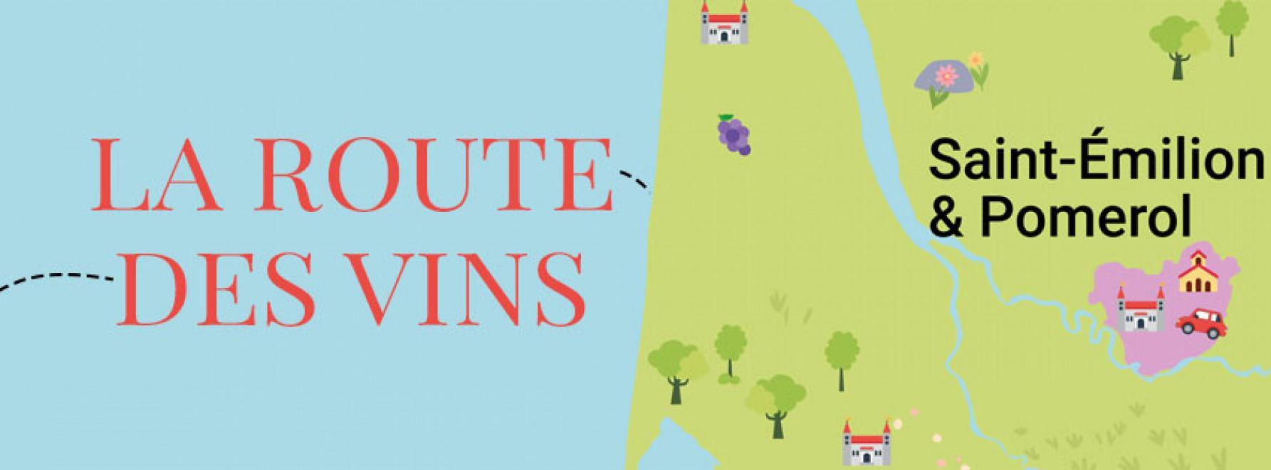 La route des vins : direction Pomerol et Saint-Émilion