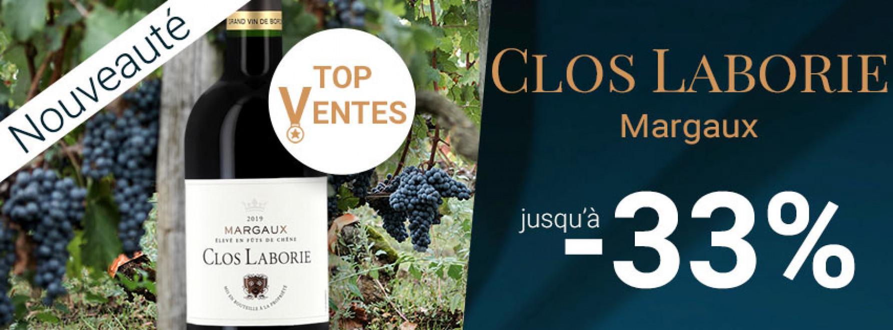 Clos Laborie, Top des ventes à Margaux
