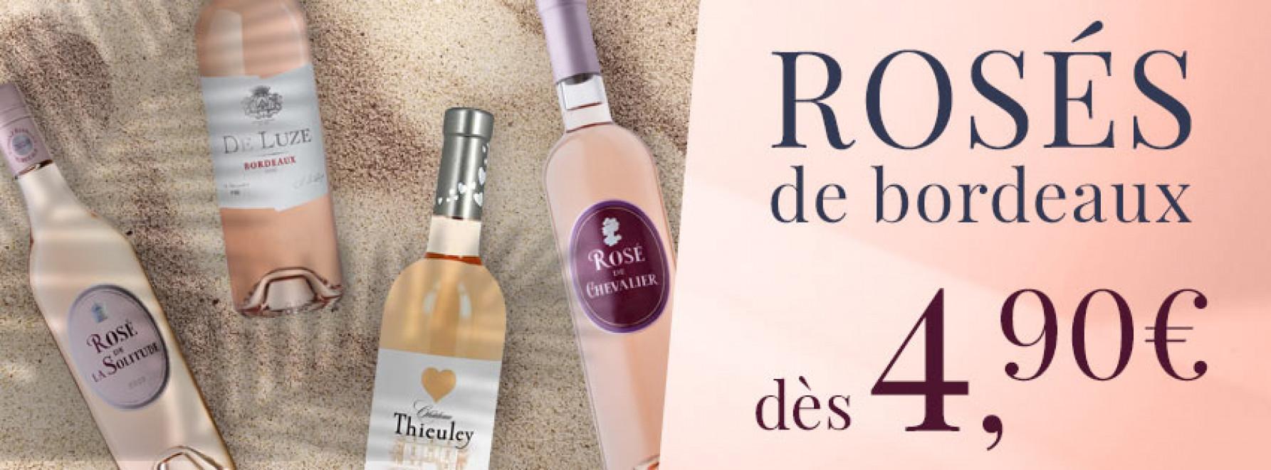 Les rosés débarquent à Bordeaux