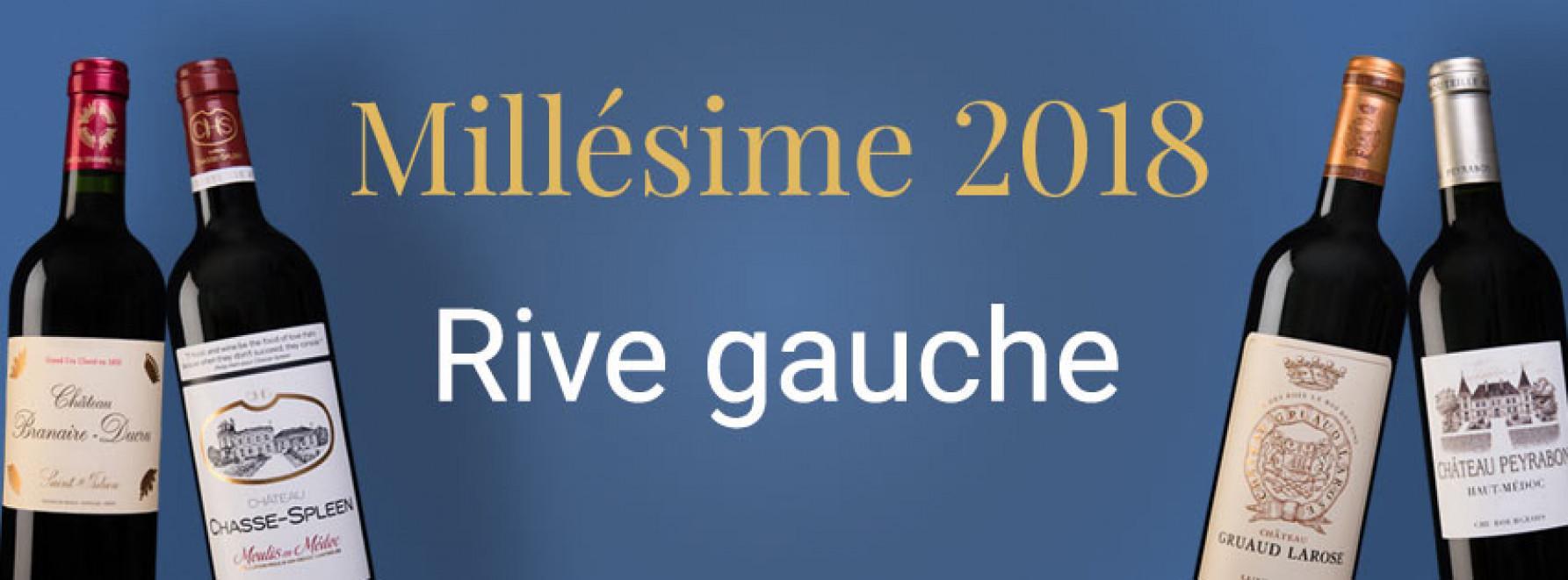 Millésime 2018 | Rive Gauche