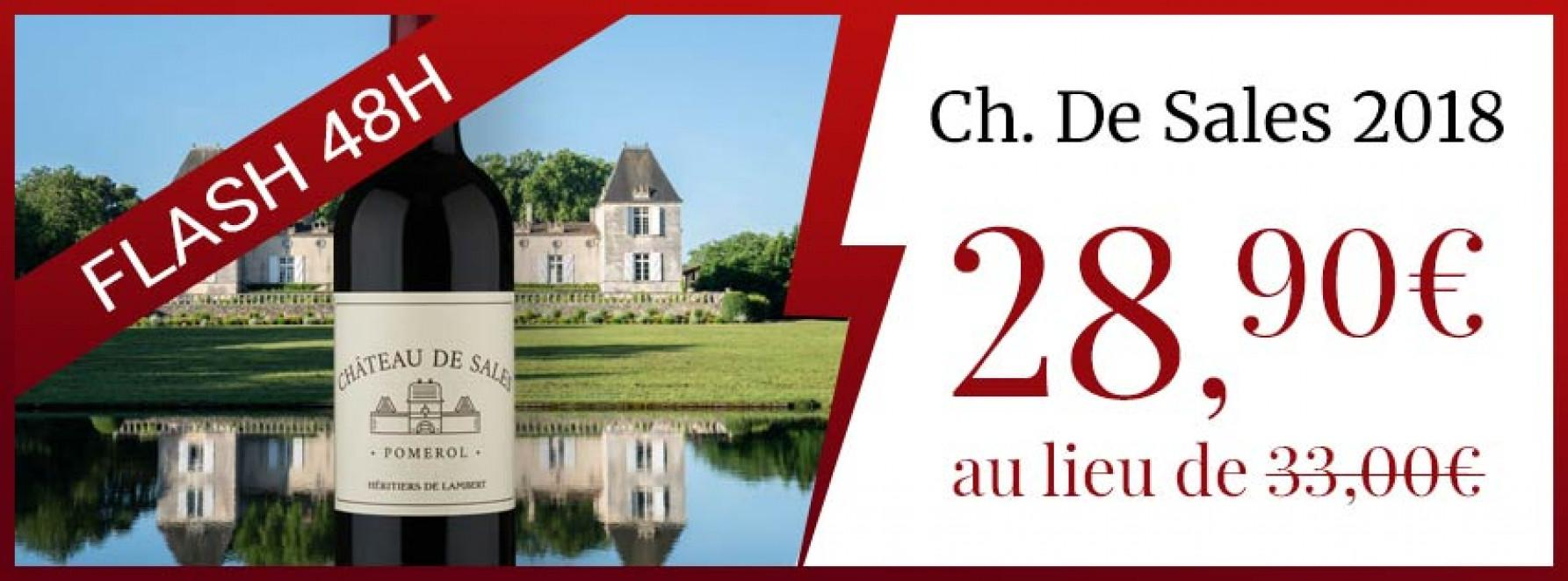 Flash 72h : Ch. De Sales 2018