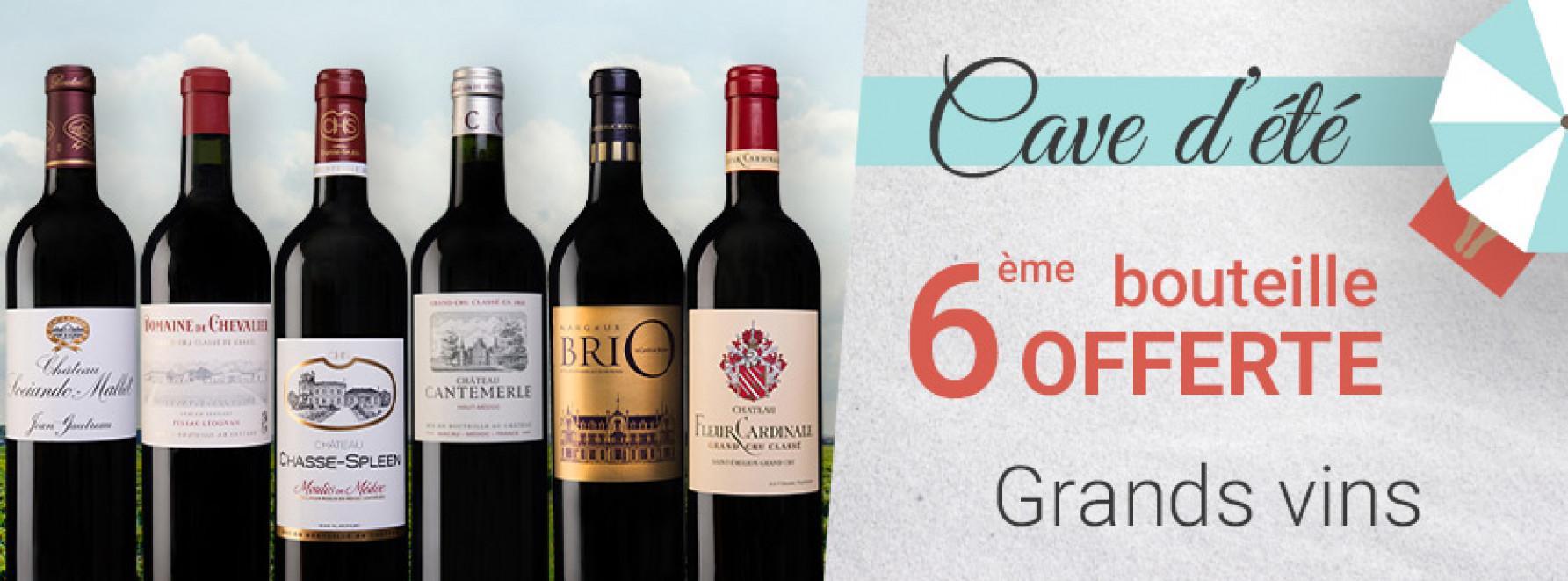 Cave d'été | Grands vins