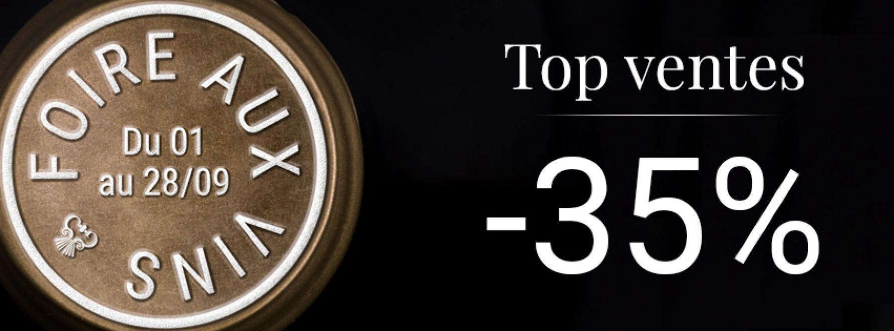 Foire aux Vins | Top ventes -35%