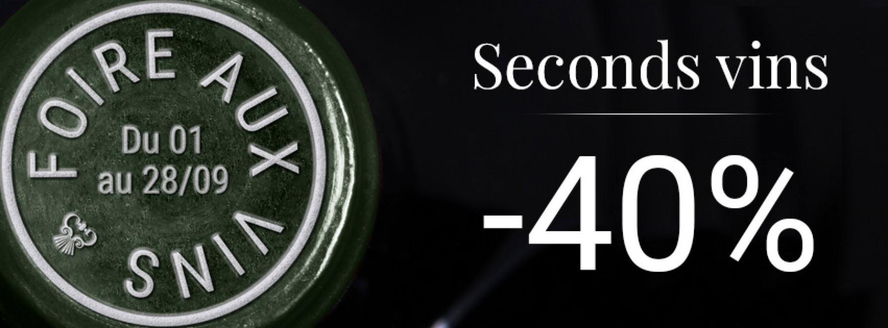 Foire aux Vins | 2nds vins -40%