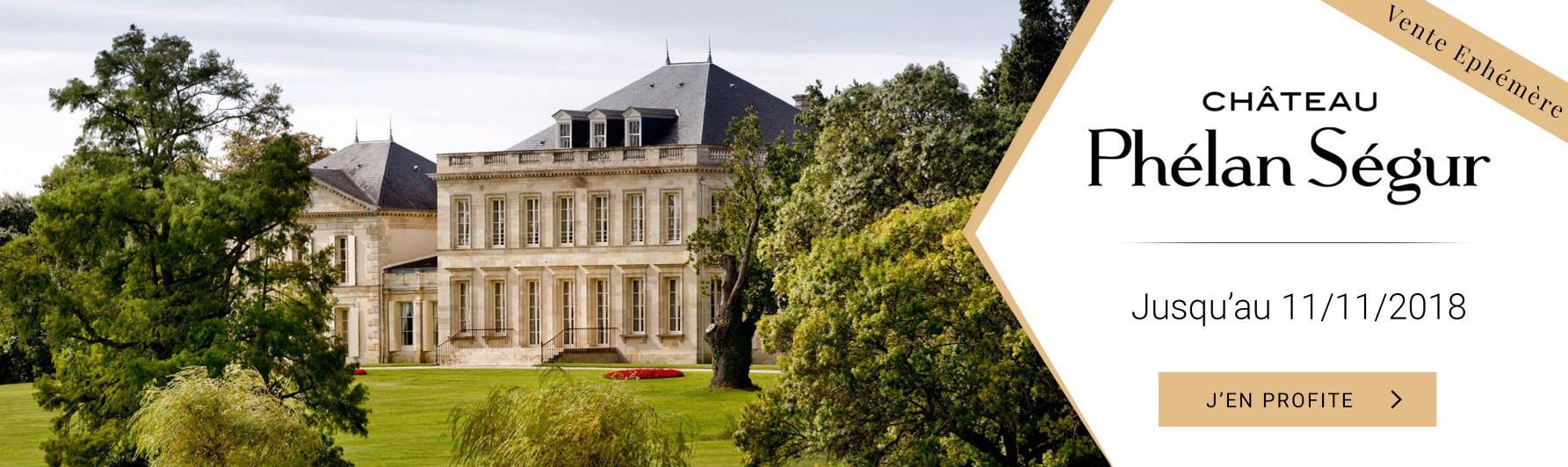 Vente éphémère Château Phélan-Ségur