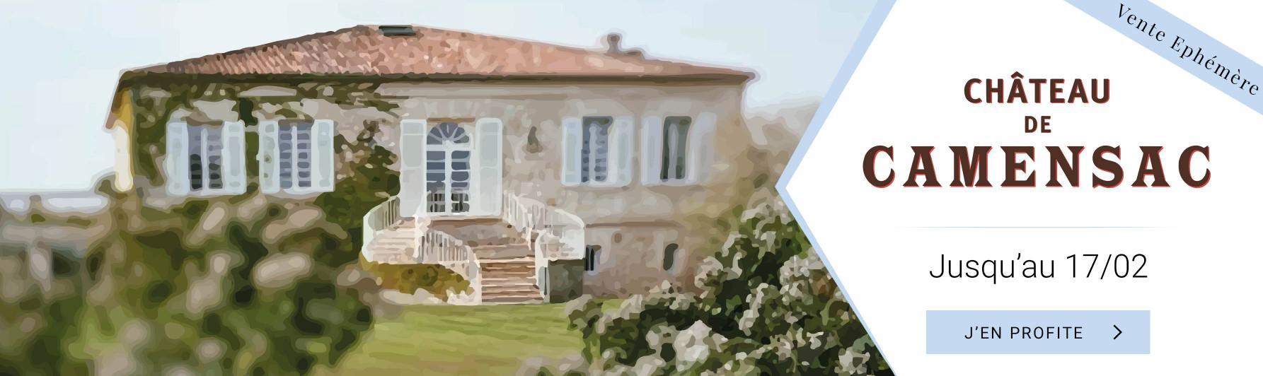 Mise en avant Château Camensac
