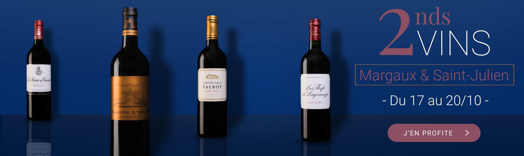 2nds vins Margaux & Saint-Julien