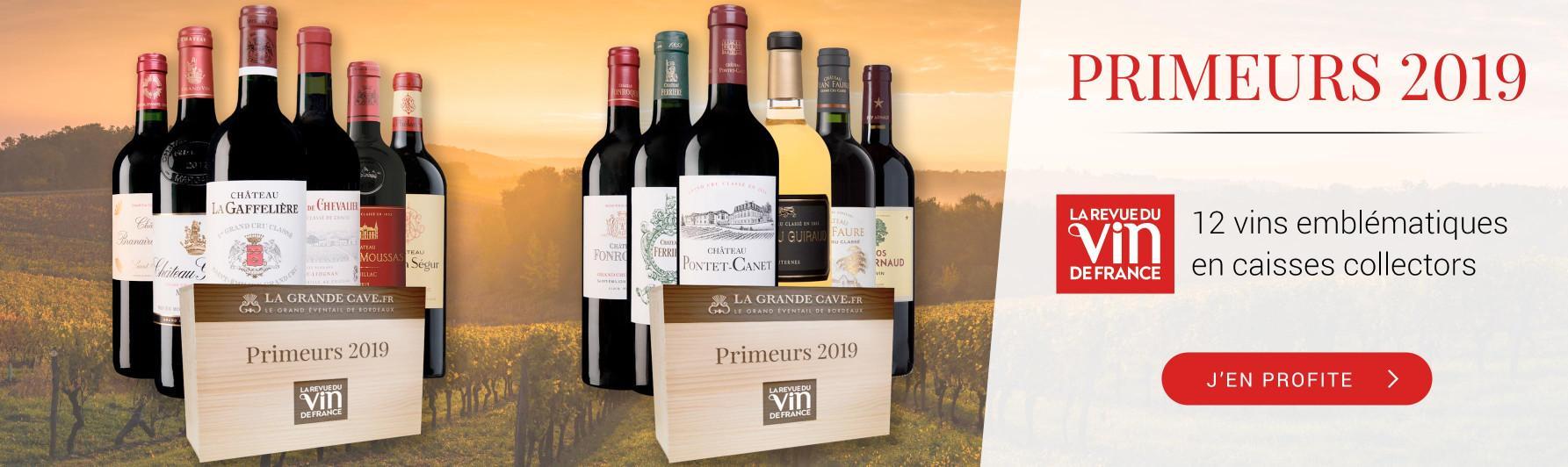 Primeurs 2019 : Caisses RVF