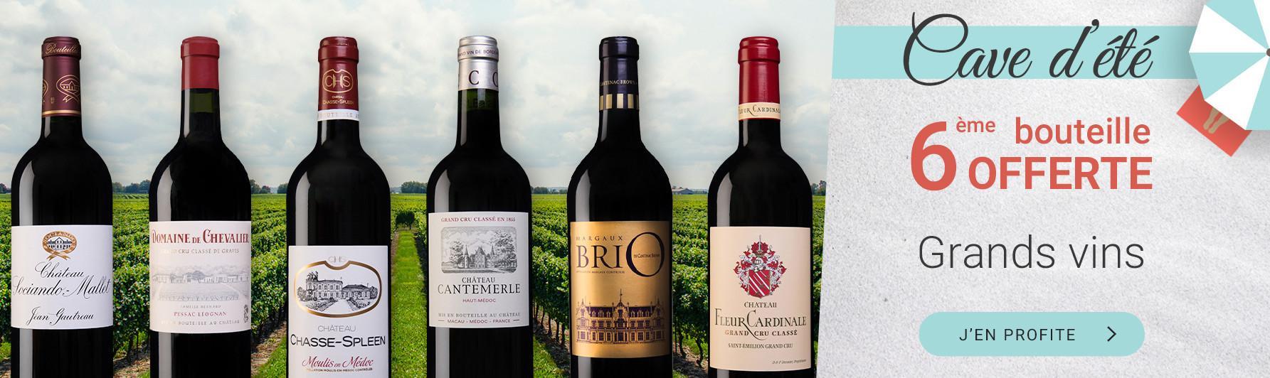 Cave d'été   Grands vins