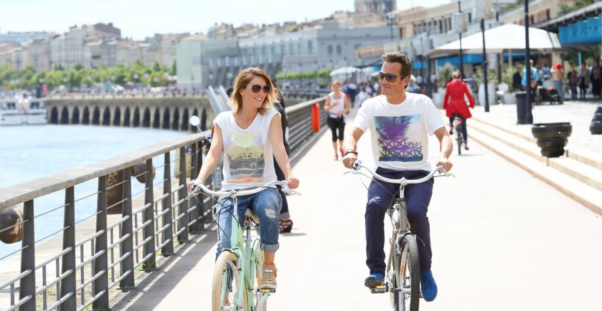 Découvrir la ville en vélo
