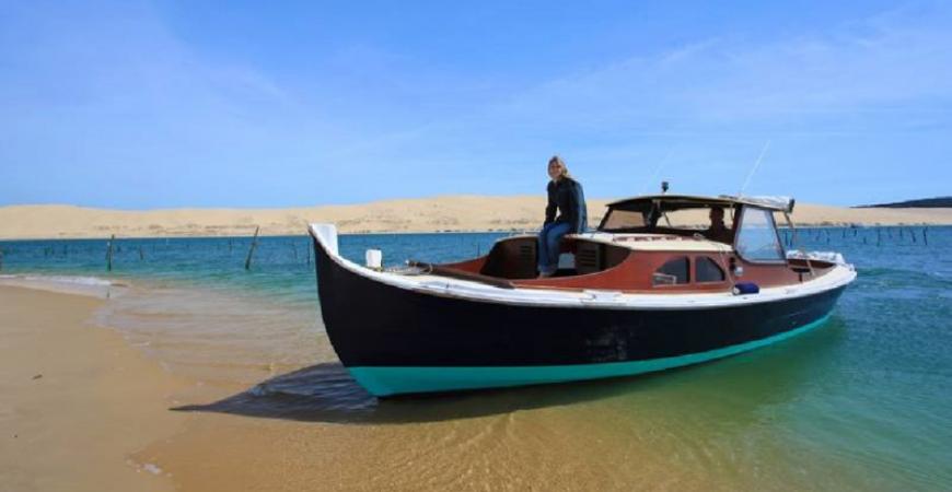 Location de bateaux à moteur et voiliers sur le Bassin d'Arcachon
