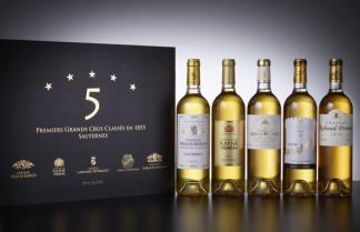 Coffret 5 étoiles Sauternes