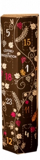 Coffret dégustation 24 vinottes Bordeaux