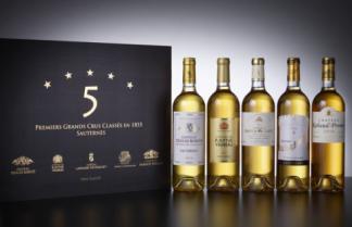 Coffret 5 étoiles Sauternes 2010