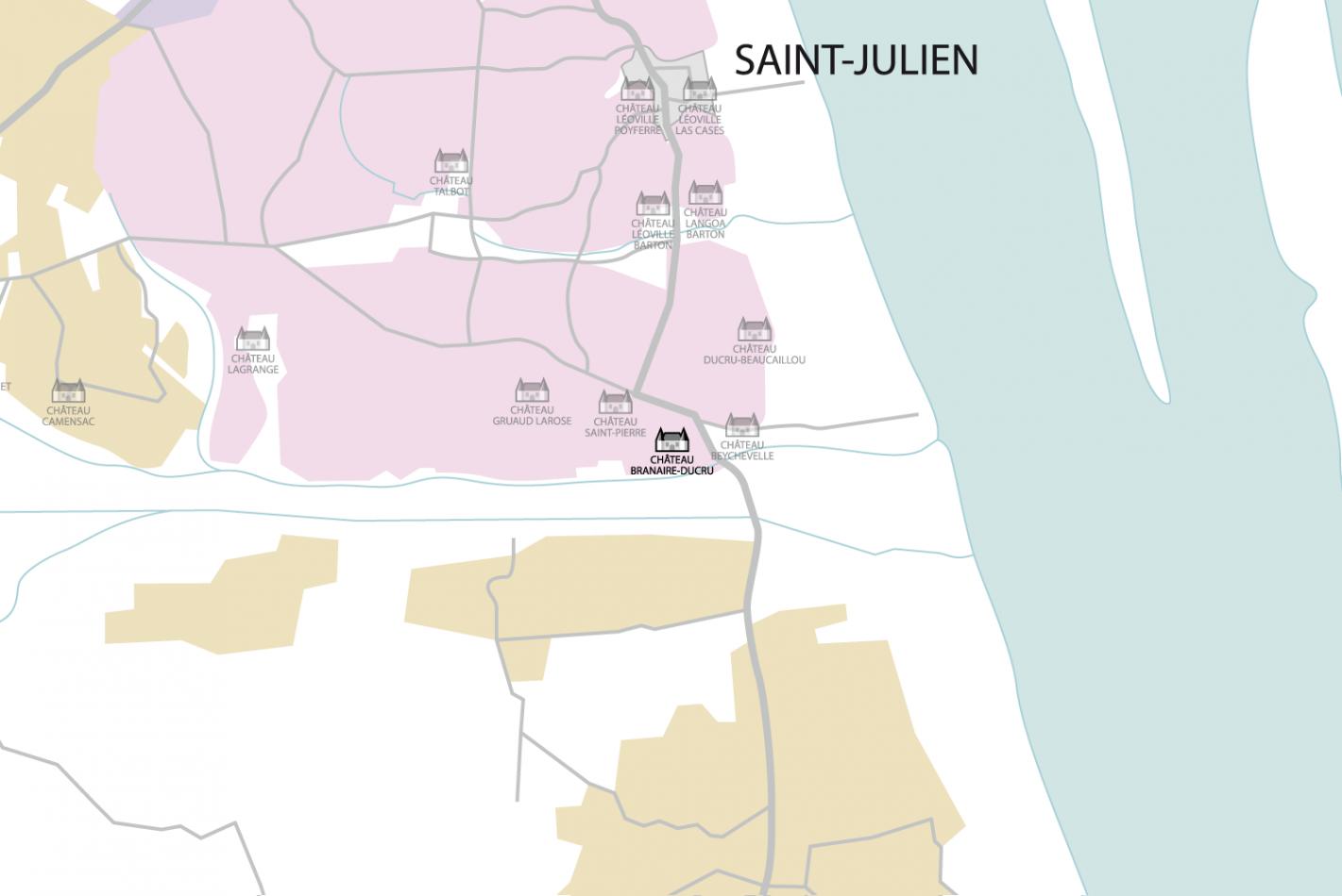 Carte Château Branaire-Ducru