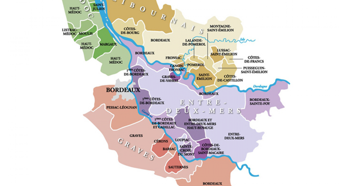 Carte Château Ferran
