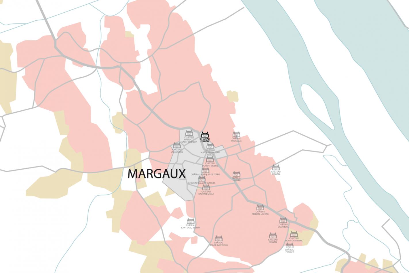 Carte Château Ferrière