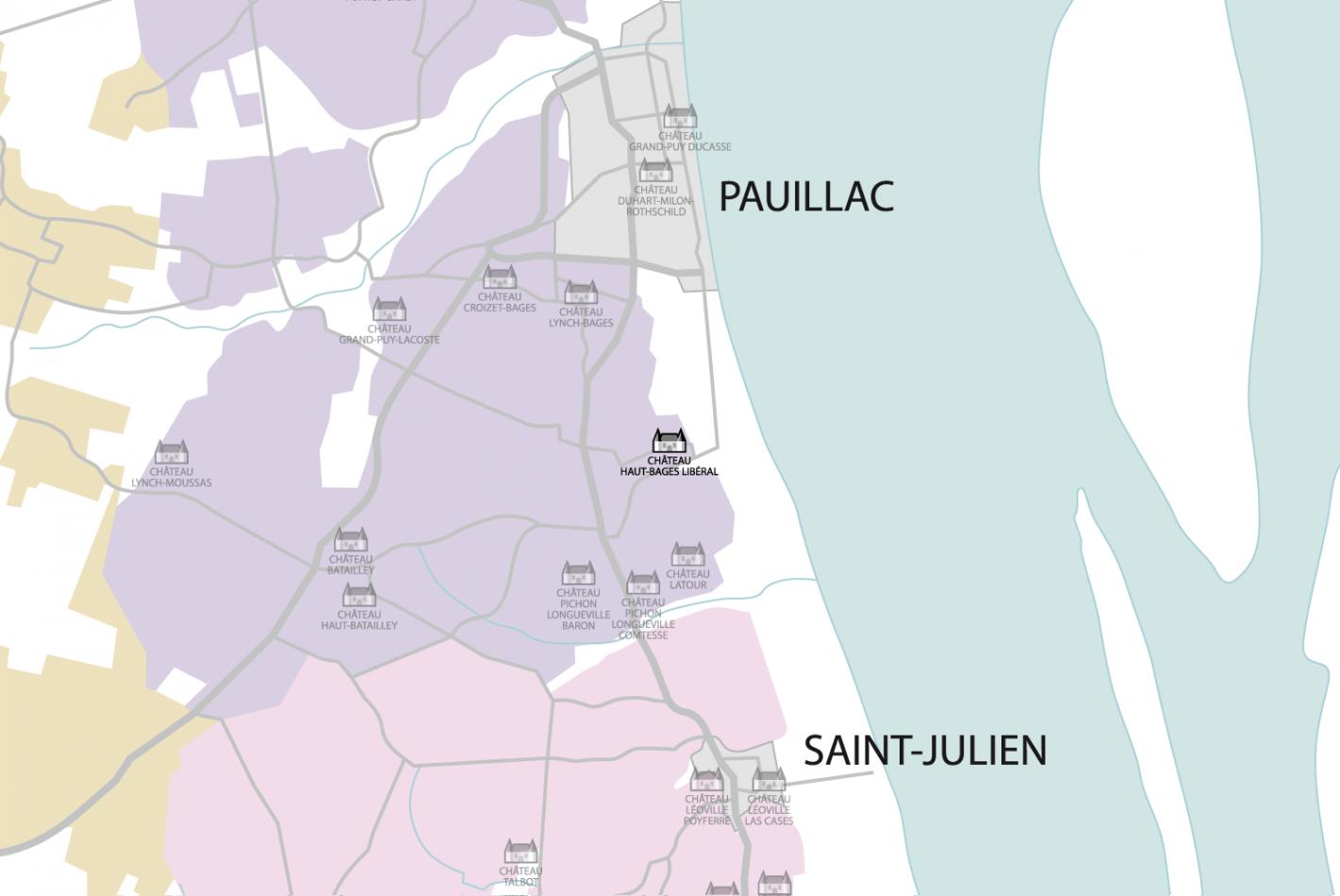 Carte Château Haut-Bages Libéral