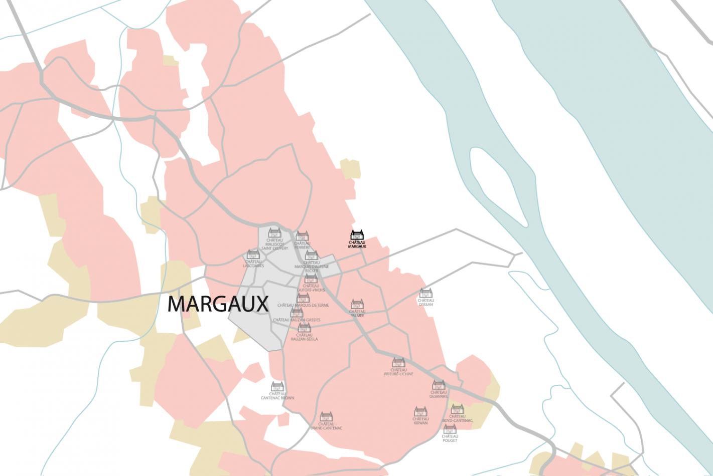 Carte Château Margaux